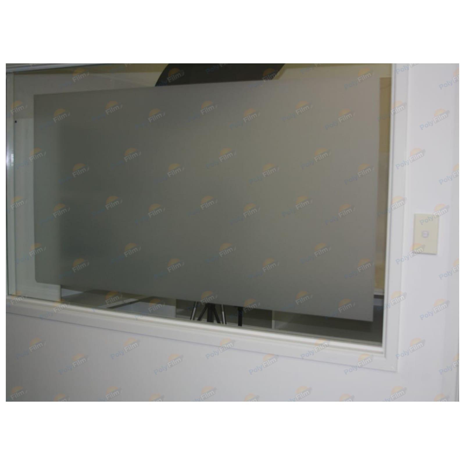 Matt White Frosted Window Glass Film Privacy 50cm X30m