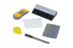 6pc Professional Window Tint Tools Kit for House / Office Film Squeegy Knife Set
