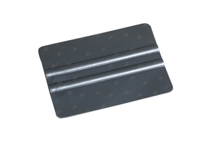 Hard Card Window Tint Film Application Squeegee Tool - Grey Plastic